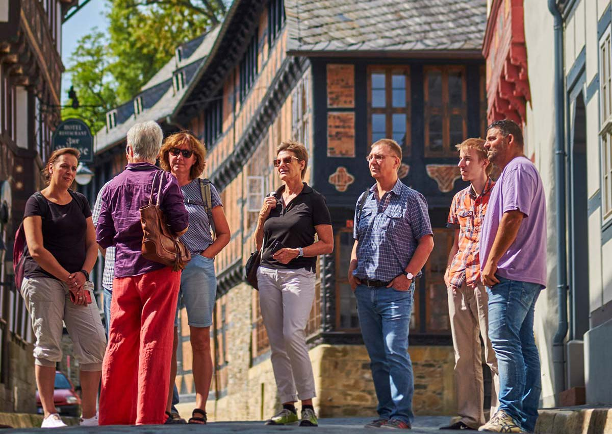 Discover the Historic Town of Goslar on a guided tour!