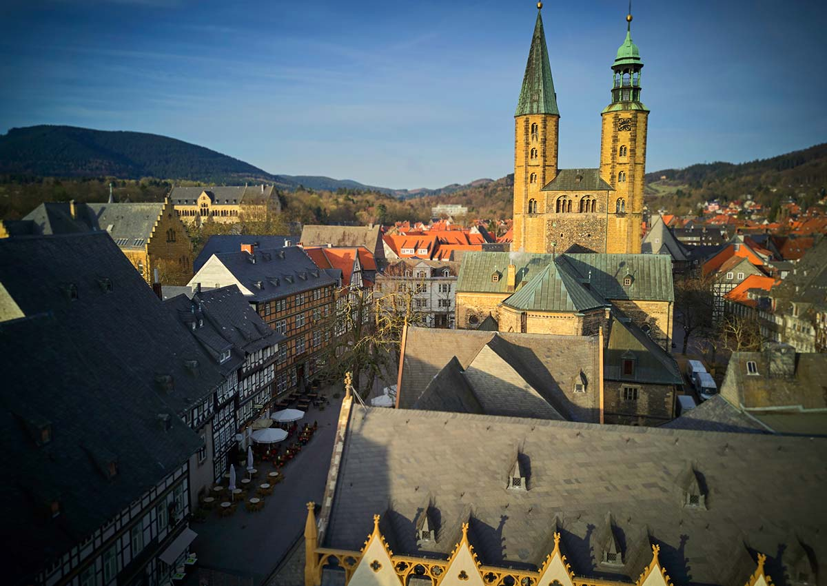 Since 1992, the Historic Town of Goslar has been listed as UNESCO World Heritage together with the Rammelsberg Mine.